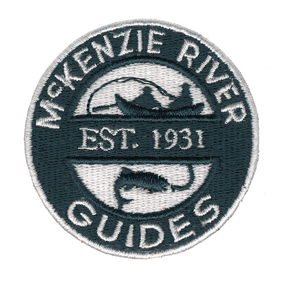McKenzie River Guides Embroidery