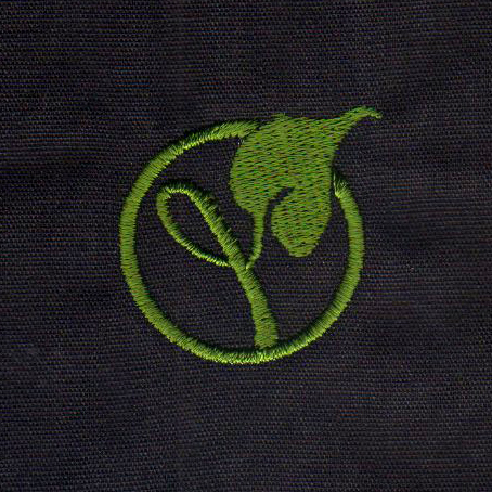 Leaf Logo Embroidery