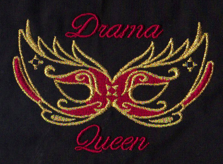 Drama Queen Embroidery
