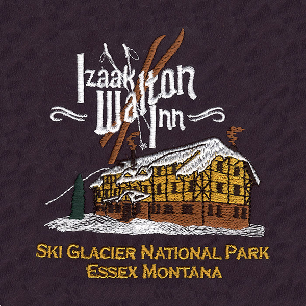 Izaak Walton inn Embroidery