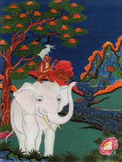 Elephant Digital Garment Print