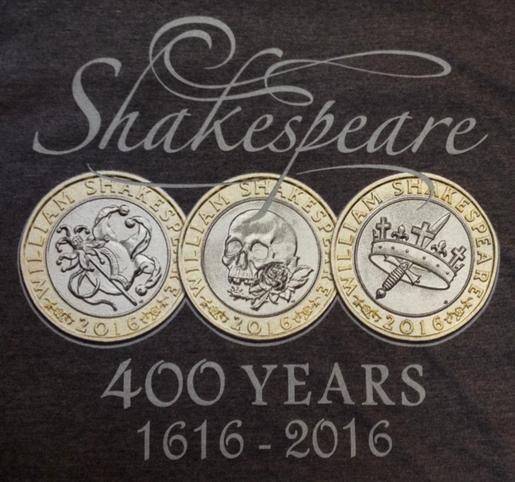 Screen Print Shakespeare 400 Years