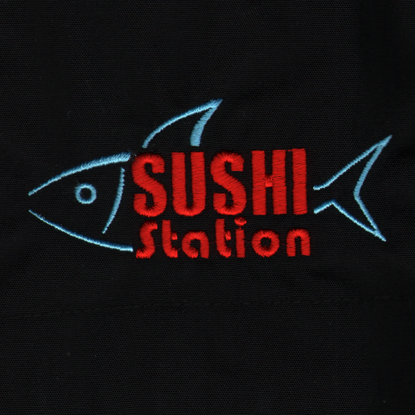 Sushi Station Embroidery