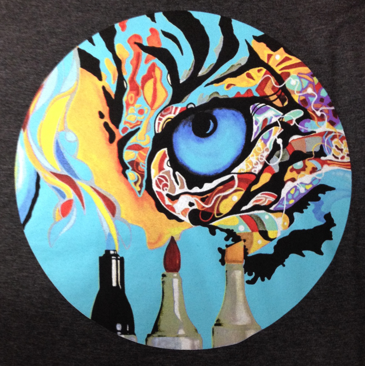 Tiger's Eye Mural