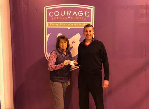 St. Francis Knights Supports Courage League Sports