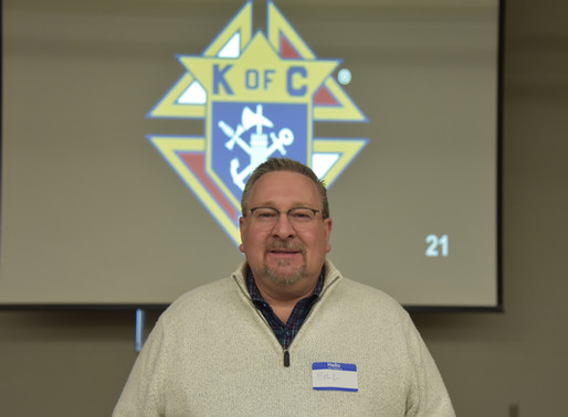 St. Francis Knights Brother Completes 2nd/3rd Degree Ceremonies