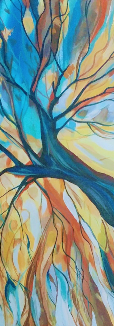 Willow Tree Abstract