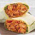 Taj's butter chicken wrap