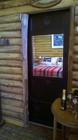 Habitación Doble de tronco. Oeste