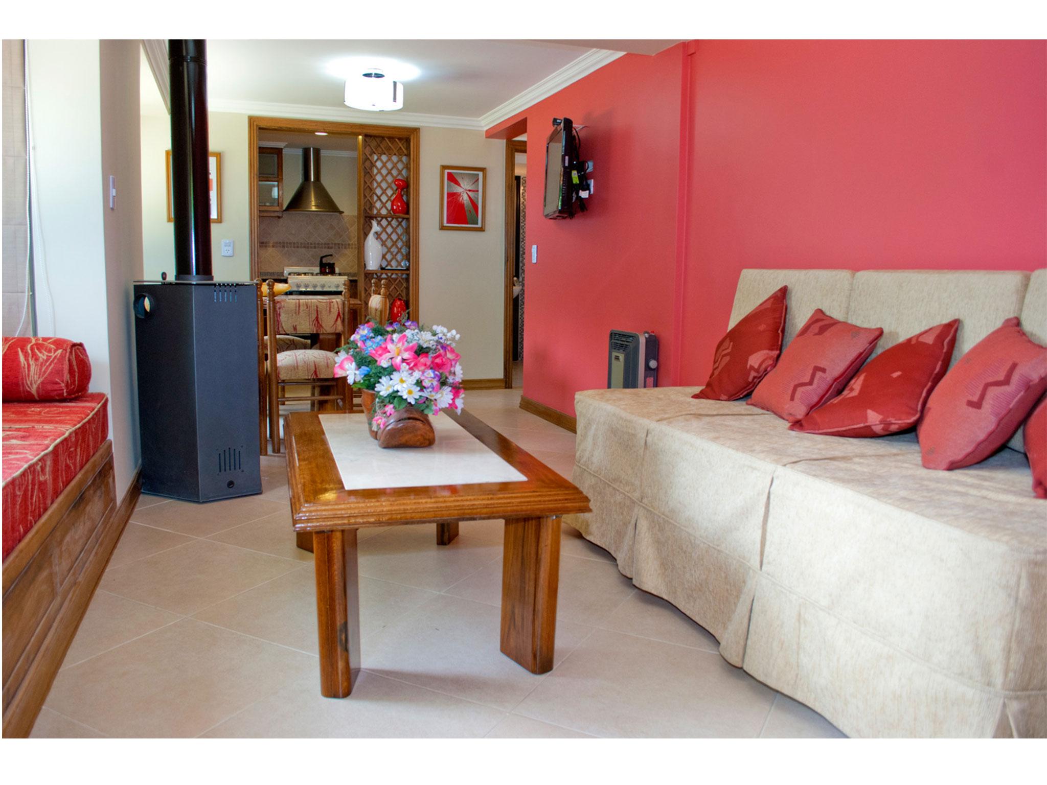 Suite Premium, sala