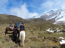 cabalgata Los Andes
