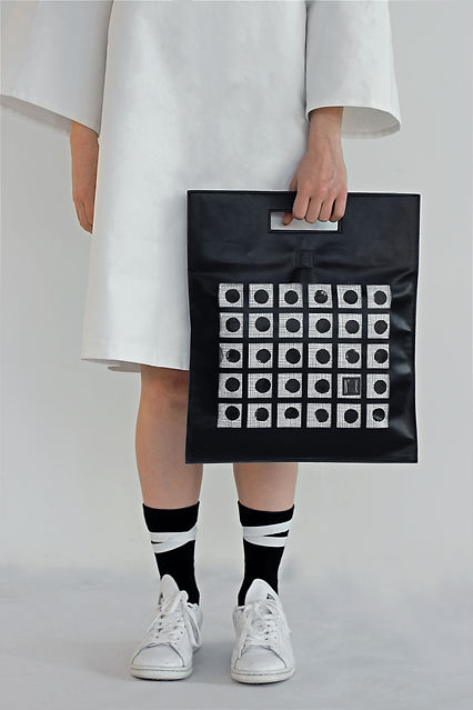 Numero K | Sac n°1 sac à composer en cuir, tyvek