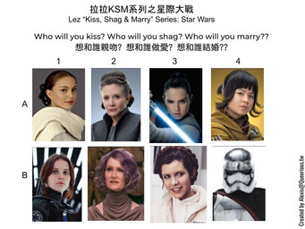 拉拉 KSM 系列之星際大戰 | Lez KSM Series: Star Wars