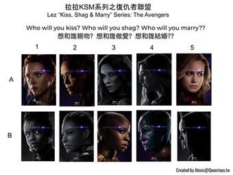 拉拉 KSM 系列之復仇者聯盟   Lez KSM Series: The Avengers