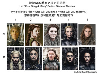 拉拉 KSM 系列之權力的遊戲   Lez KSM Series: Game of Thrones