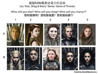 拉拉 KSM 系列之權力的遊戲 | Lez KSM Series: Game of Thrones