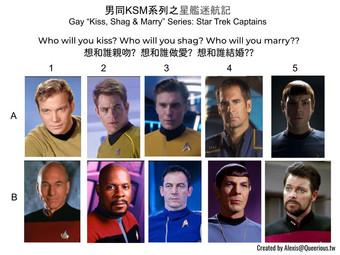 男同 KSM 系列之星艦迷航記 | Gay KSM Series: Star Trek Captains