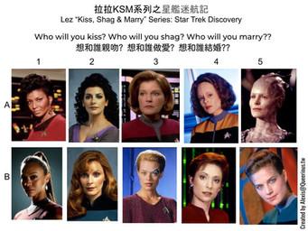拉拉 KSM 系列之星艦迷航記 | Lez KSM Series: Star Trek Universe