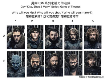 男同 KSM 系列之權力的遊戲 | Gay KSM Series: Game of Thrones