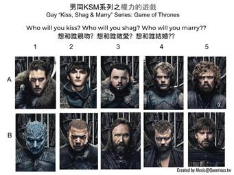 男同 KSM 系列之權力的遊戲 | Gay KSM Series: Game of Thrones