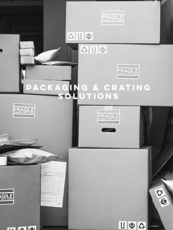 PACKAGING & CRATING SOLUTIONS