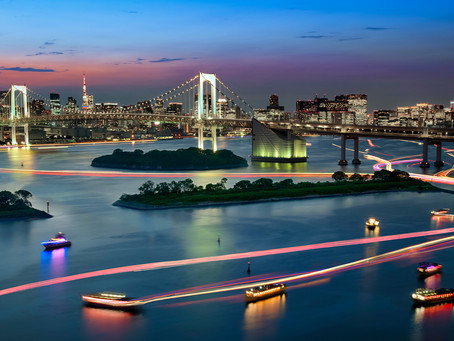 Two Great Photo Spots In Odaiba!