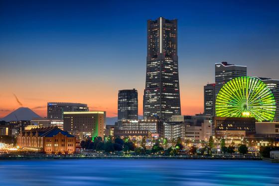 Yokohama-Best Three Free Spots To Photograph At Night