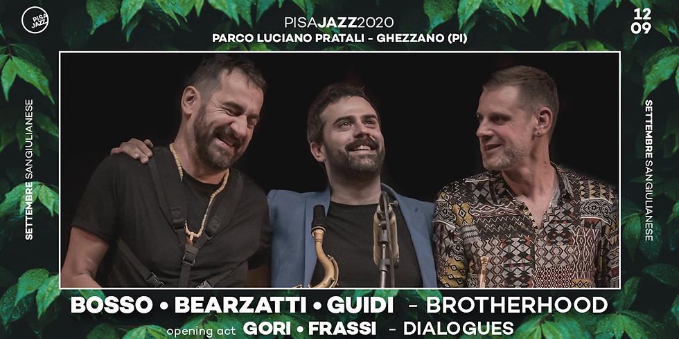 Pisa Jazz @ Settembre Sangiulianese: BOSSO • BEARZATTI • GUIDI Brotherhood / GORI • FRASSI Dialogues