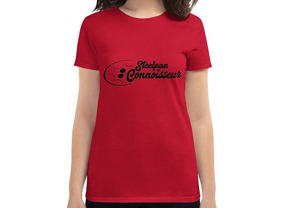 Steelpan Connoisseur Women's short sleeve t-shirt (Black Logo)