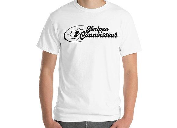 Steelpan Connoisseur Short Sleeve T-Shirt (Black Logo)