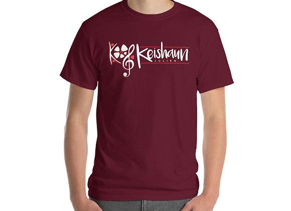 Short Sleeve T-Shirt (White/Red Logo)