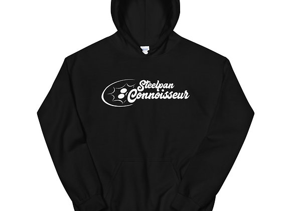 Steelpan Connoisseur Unisex Hoodie (White Logo)
