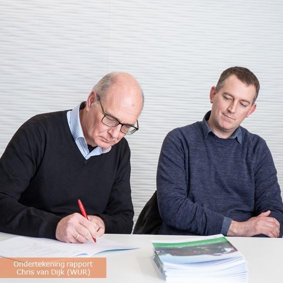 Rapport ondertekening Chris van Dijk (WU