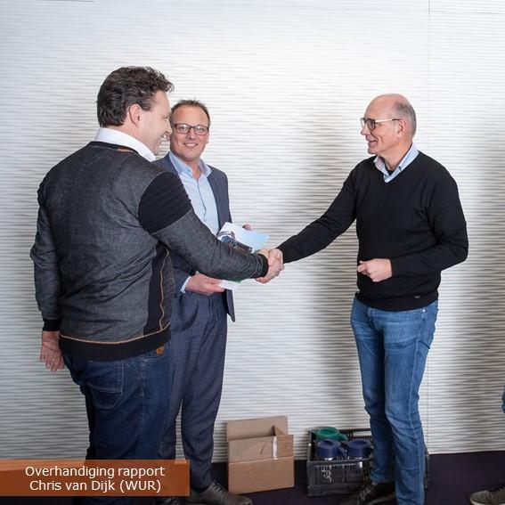 Rapport overhandiging Chris van Dijk (WU
