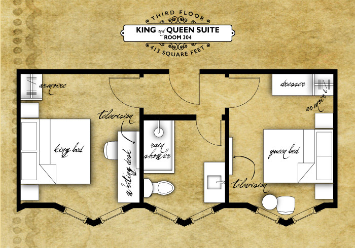 King and Queen Suite
