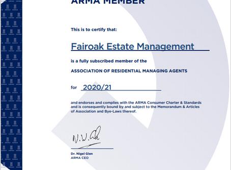 ARMA Membership 2020 - 2021