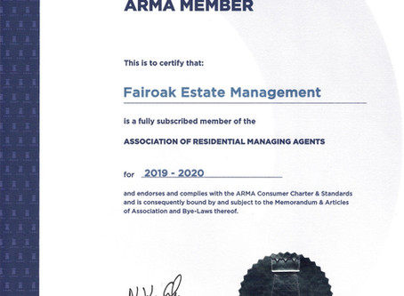 ARMA Membership 2019 - 2020