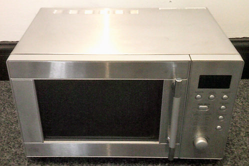 SAINSBURYS USED DIGITAL STAINLESS STEEL MICROWAVE
