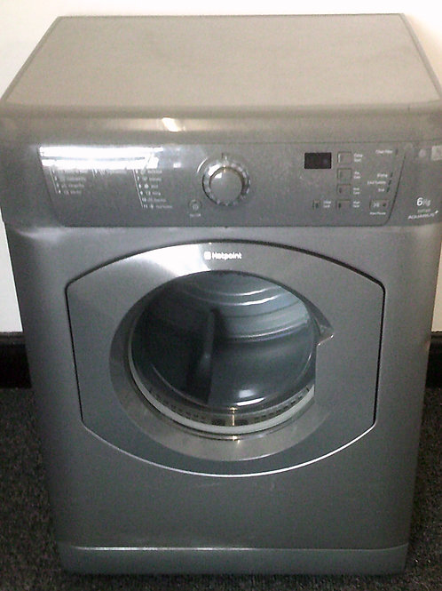 HOTPOINT USED SILVER VENTED TUMBLE DRYER