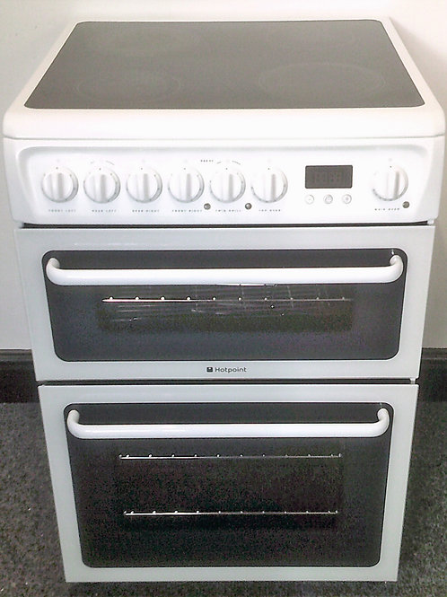 HOTPOINT USED ELECTRIC 60CM CERAMIC COOKER