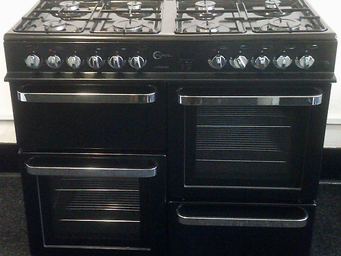 FLAVEL USED DUAL FUEL RANGE COOKER