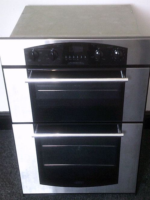 BELLING USED ELECTRIC BUILT-IN DOUBLE OVEN