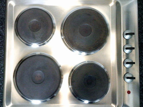 ZANUSSI USED STAINLESS STEEL ELECTRIC HOB