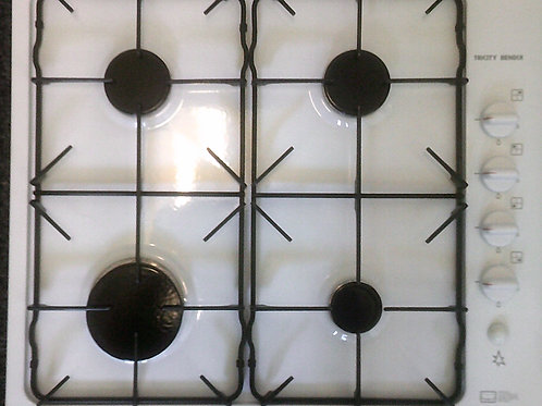 USED TRICITY BENDIX WHITE GAS HOB