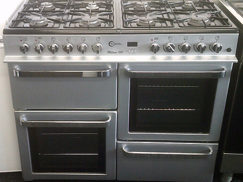FLAVEL USED 100CM DUAL FUEL RANGE COOKER