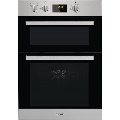 INDESIT NEW DOUBLE BUILT-IN OVEN