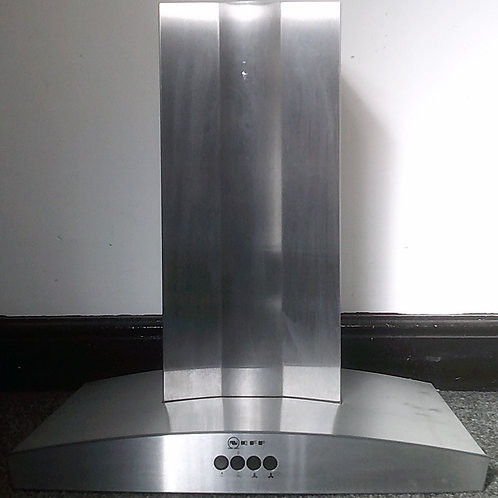 NEFF USED STAINLESS STEEL COOKER CHIMNEY EXTRACTOR HOOD