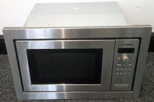 BOSCH USED BUILT-IN STAINLESS STEEL MICROWAVE