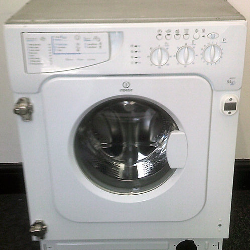 INDESIT USED BUILT-IN WASHER DRYER