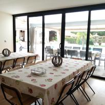 6.1. Villa Flor - Casita auxiliar y cena